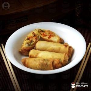 Harumaki de Legumes - Delivery Sushi Rão, o Maior do Brasil. O melhor da Comida Japonesa na sua casa!