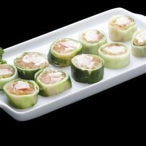 Roll Salmão Light - Delivery Sushi Rão, o Maior do Brasil. O melhor da Comida Japonesa na sua casa!