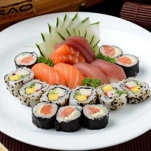 Combo 1 - Delivery Sushi Rão, o Maior do Brasil. O melhor da Comida Japonesa na sua casa!