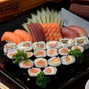 Combo 2 - Delivery Sushi Rão, o Maior do Brasil. O melhor da Comida Japonesa na sua casa!