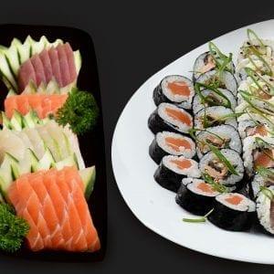 Combo 5 - Delivery Sushi Rão, o Maior do Brasil. O melhor da Comida Japonesa na sua casa!