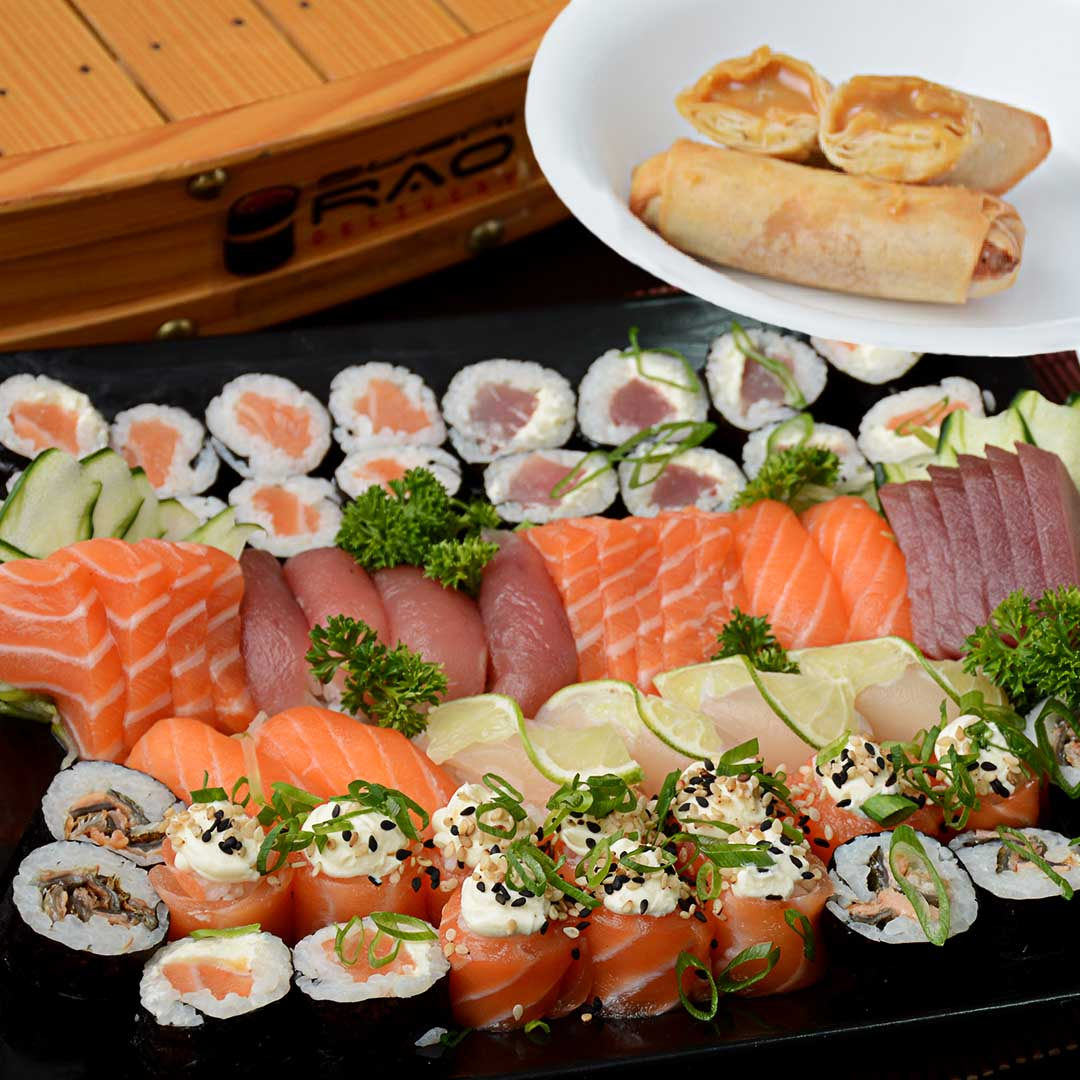 Combos do Sushi Rão - Delivery Sushi Rão, o Maior do Brasil. O melhor da Comida Japonesa na sua casa!