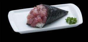 Temaki de Atum - Delivery Sushi Rão, o Maior do Brasil. O melhor da Comida Japonesa na sua casa!