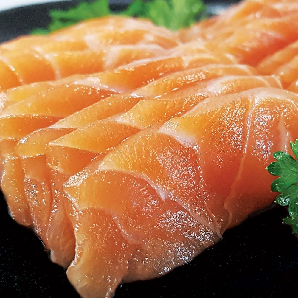 Sashimi de Salmão - Delivery Sushi Rão, o Maior do Brasil. O melhor da Comida Japonesa na sua casa!