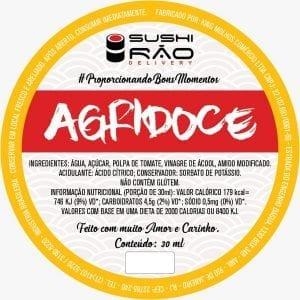 Agridoce - Delivery Sushi Rão, o Maior do Brasil. O melhor da Comida Japonesa na sua casa!