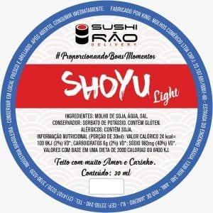 Shoyu Light - Delivery Sushi Rão, o Maior do Brasil. O melhor da Comida Japonesa na sua casa!