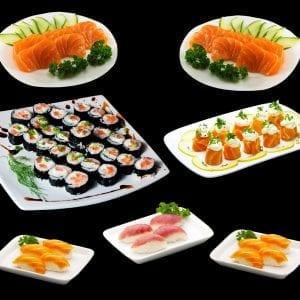 Combo 6 - Delivery Sushi Rão, o Maior do Brasil. O melhor da Comida Japonesa na sua casa!