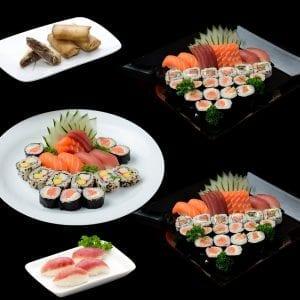 Combo 7 - Delivery Sushi Rão, o Maior do Brasil. O melhor da Comida Japonesa na sua casa!