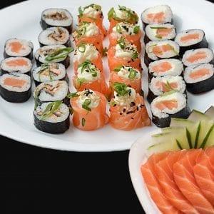 Combo 3 - Delivery Sushi Rão, o Maior do Brasil. O melhor da Comida Japonesa na sua casa!