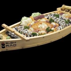 Barco de Comida Japonesa - Delivery Sushi Rão, o Maior do Brasil. O melhor da Comida Japonesa na sua casa!