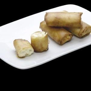 Harumaki de Chocolate Branco - Delivery Sushi Rão, o Maior do Brasil. O melhor da Comida Japonesa na sua casa!