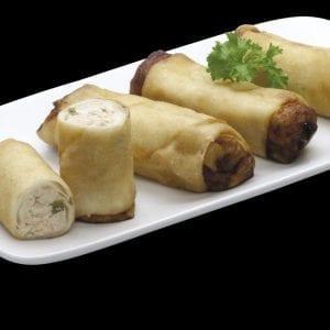 Harumaki de Salmão - Delivery Sushi Rão, o Maior do Brasil. O melhor da Comida Japonesa na sua casa!