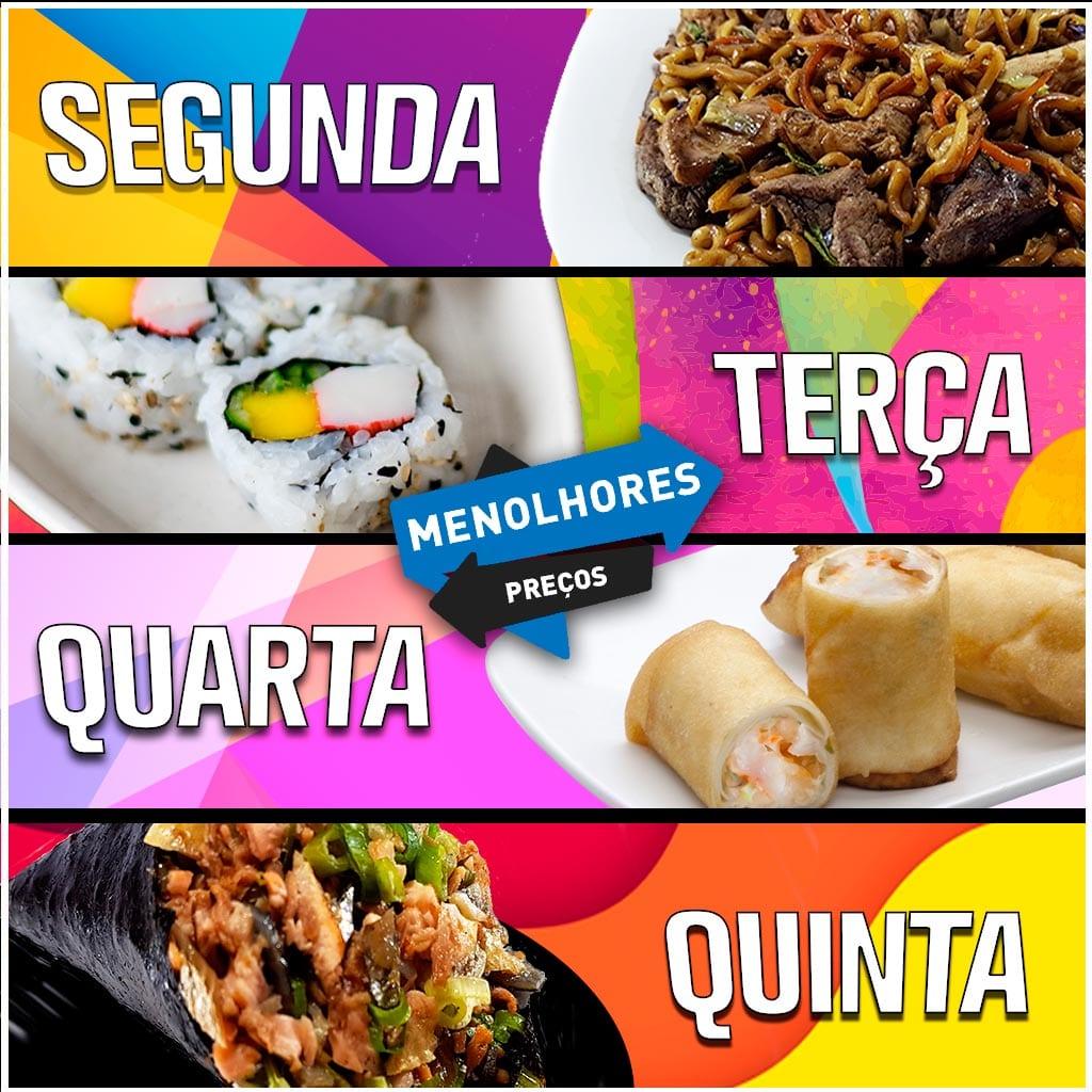 MeNolhores Preços - Delivery Sushi Rão, o Maior do Brasil. O melhor da Comida Japonesa na sua casa!
