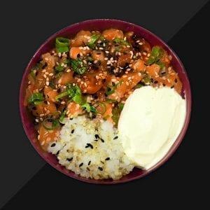 Poke de Salmão - Delivery Sushi Rão, o Maior do Brasil. O melhor da Comida Japonesa na sua casa!