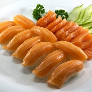 Sushi e Sashimi de Salmão - Delivery Sushi Rão, o Maior do Brasil. O melhor da Comida Japonesa na sua casa!