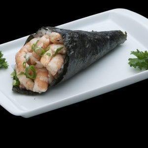 Temaki de Camarão - Delivery Sushi Rão, o Maior do Brasil. O melhor da Comida Japonesa na sua casa!