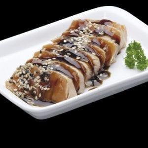 Sashimi Toast de Salmão - Delivery Sushi Rão, o Maior do Brasil. O melhor da Comida Japonesa na sua casa!