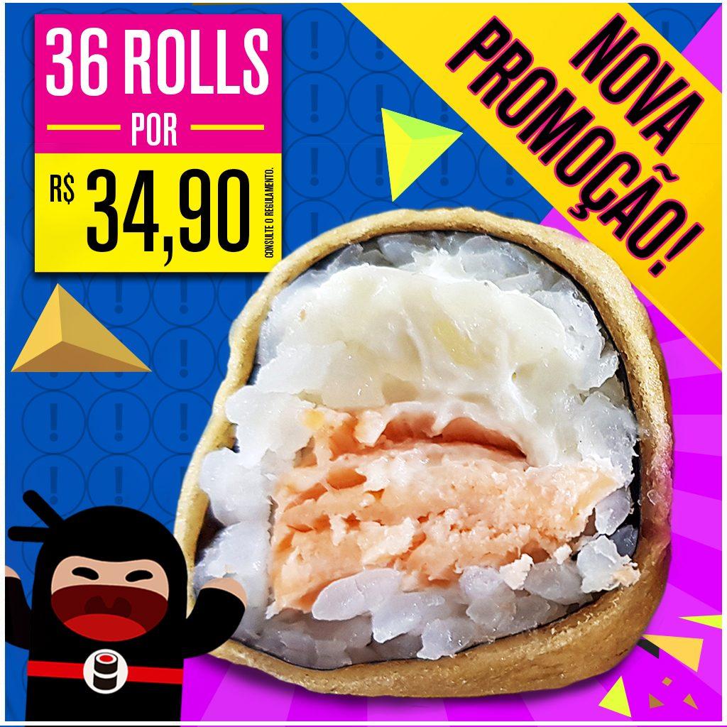 Promoção de Hot Philadelphia - Delivery Sushi Rão, o Maior do Brasil. O melhor da Comida Japonesa na sua casa!